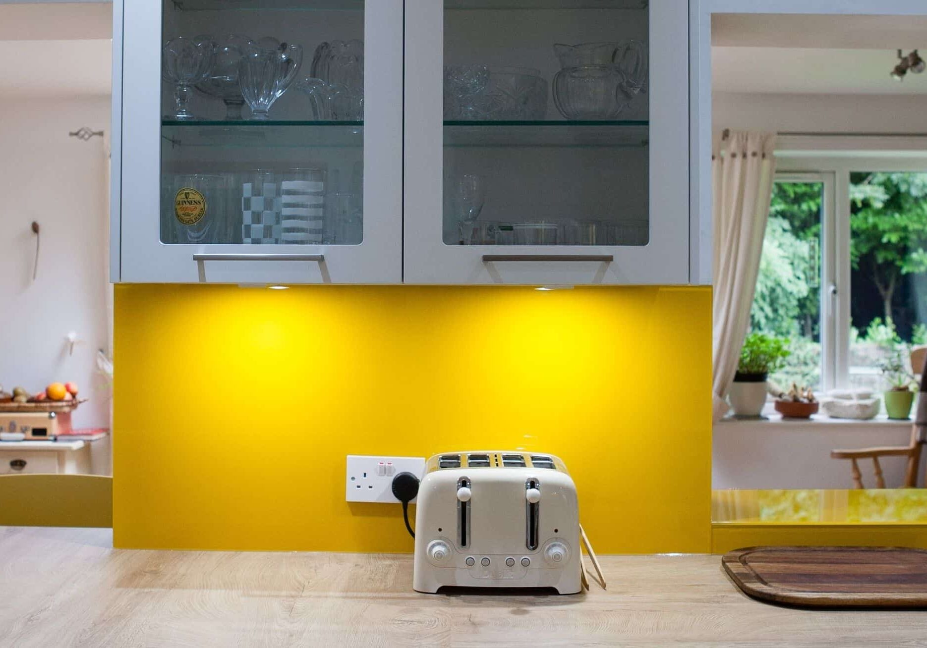 Contemporary Yellow Kitchen